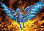 Sacred Blue Phoenix of Nephthys FULL ARTWORK