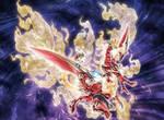 Nephthys the Blazing Sacred Phoenix FULL ARTWORK