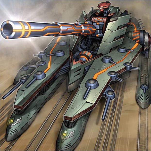 Superdreadnought Rail Cannon Juggernaut Liebe