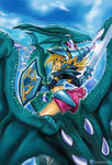 Dark Magician Girl The Dragon Knight FULL ARTWORK