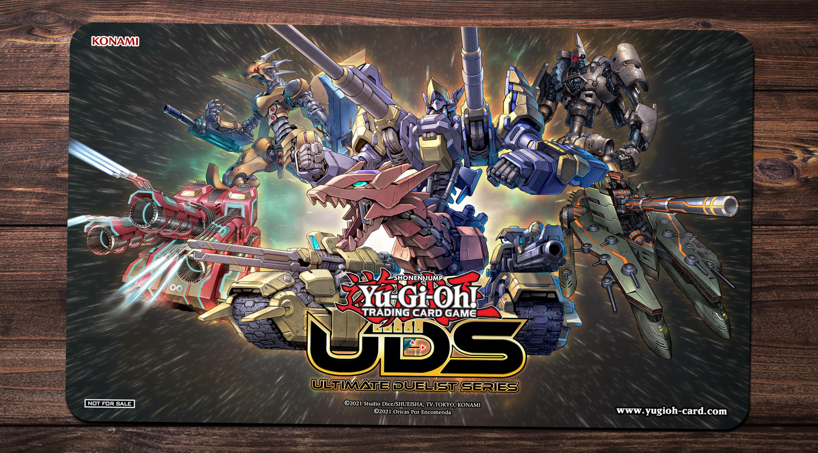 Yu-Gi-Oh Dice Masters Series One Play Mat
