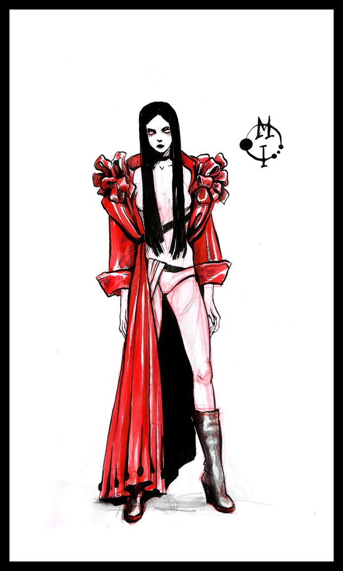 Red coat by Kolokolna