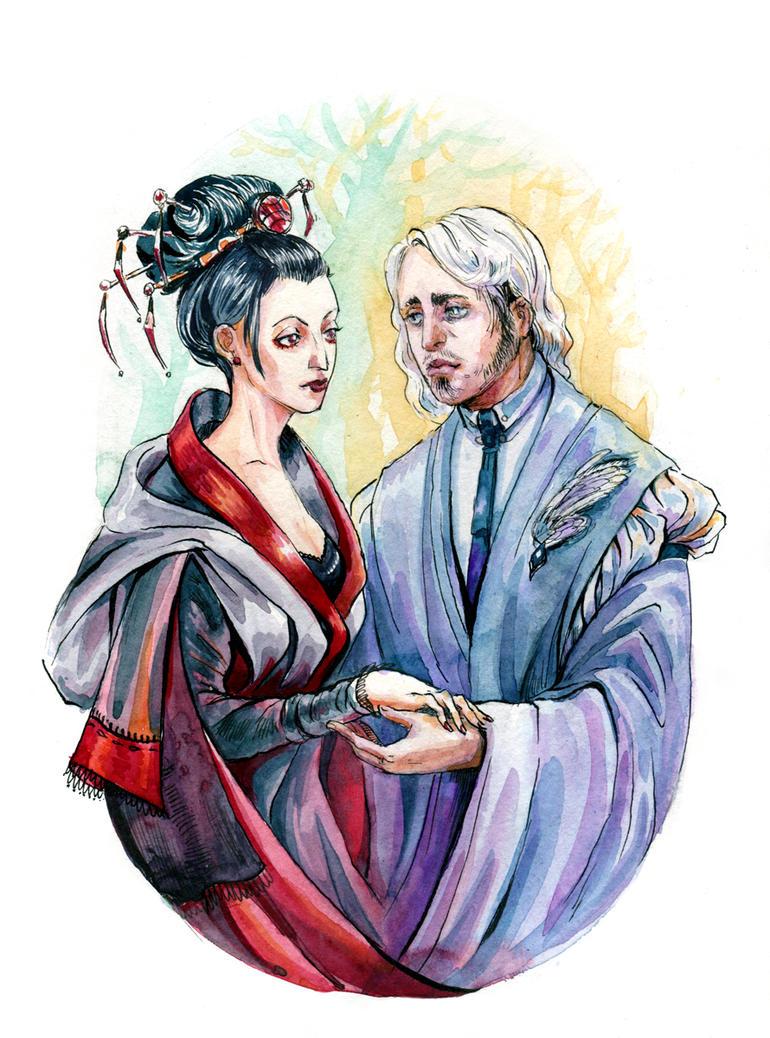 Imiritte and Charlett by Kolokolna