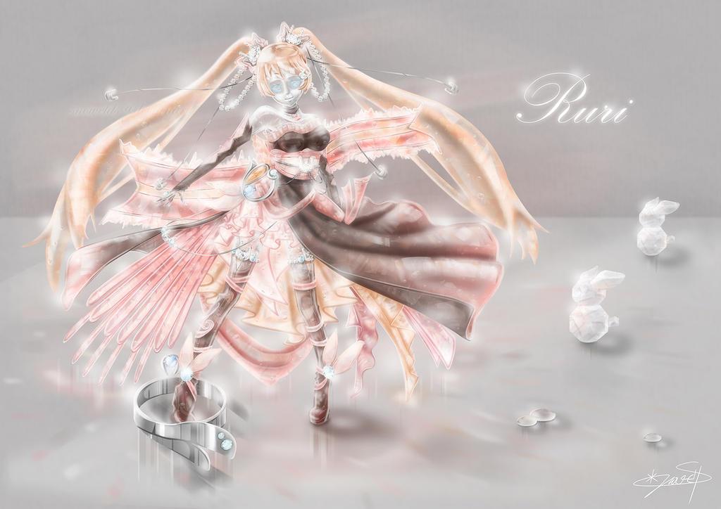 Crystal Ruri by SnowELDS