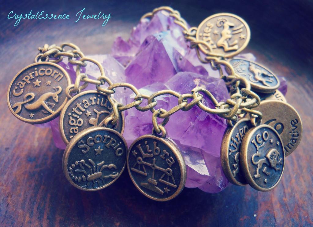 Zodiac Bracelet by CitrineNightmare90
