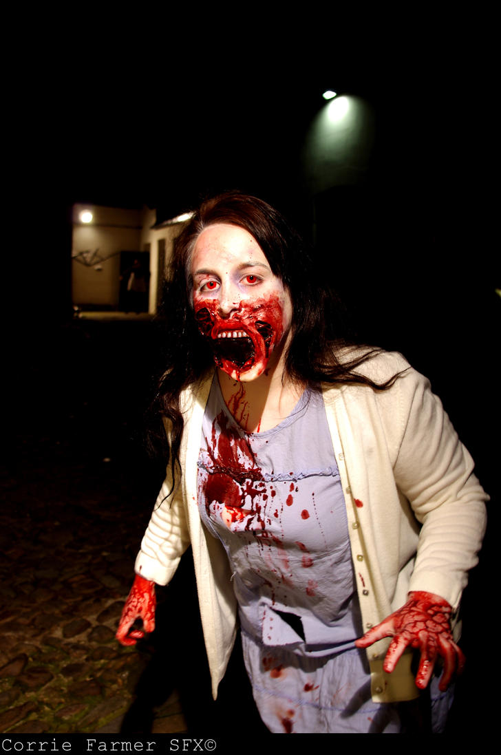 Zombie Girl by CorrieFarmerSFX