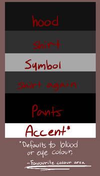 God Tier Colour Guide