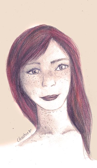 Ginny Weasley by f-innick