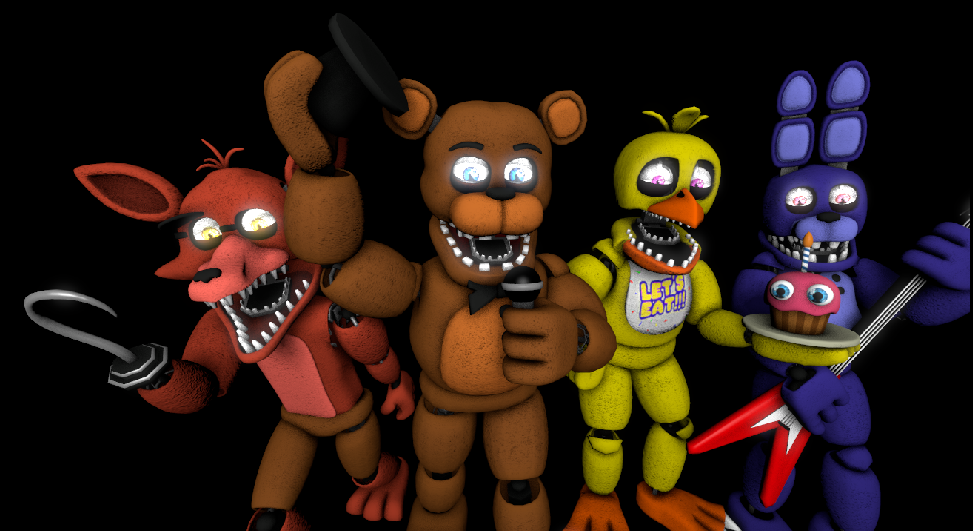 The Unwithered Animatronics by chicafreddy32 on DeviantArt