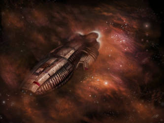 Battlestar Galactica by BustedFluxcapacitor