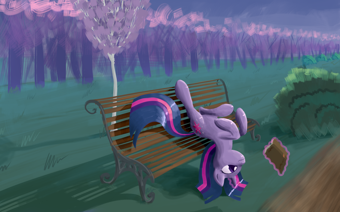 Reading into Twilight. by eytosh