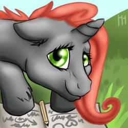 Sketch avatar by MumzyHyenaBat
