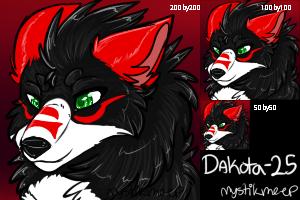 Dakota-25 icon commission by MystikMeep