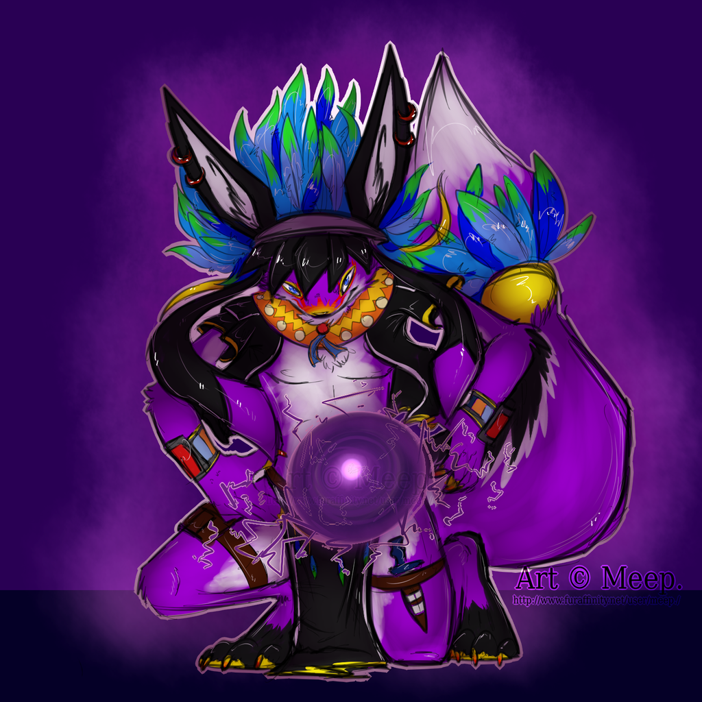 Sketch Commission: phantomfullforce by MystikMeep