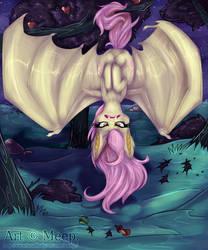 Flutterbat: Hisssss by MystikMeep