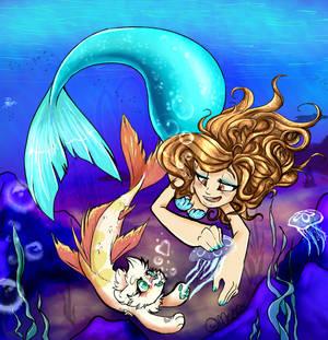 Caseyfish n Meepfish: Exploring the oceans