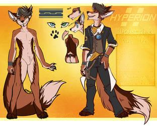 Handsome Jack Fox by MystikMeep