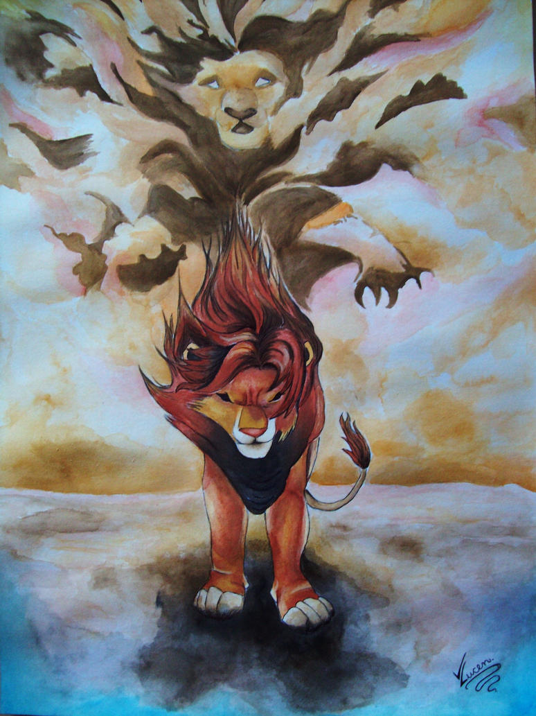 The Lion King Simba And Mufasa By Vii Dragon