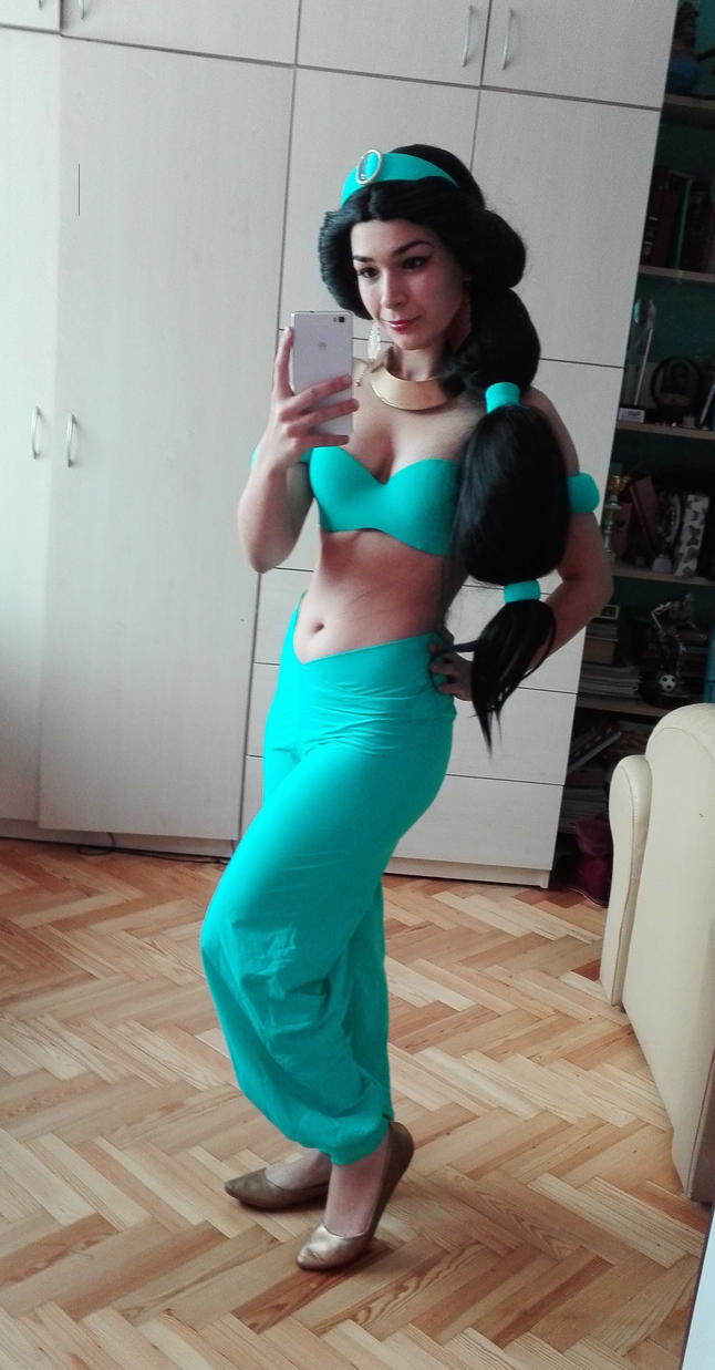 Princess Jasmine Cosplay Costume Image Is Loading Aladdin And The