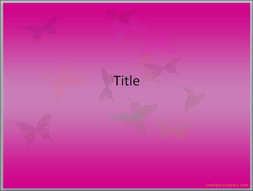 Animated butterfly powerpoint templates ppt by enrila on deviantart animated butterfly powerpoint templates ppt by enrila toneelgroepblik Image collections