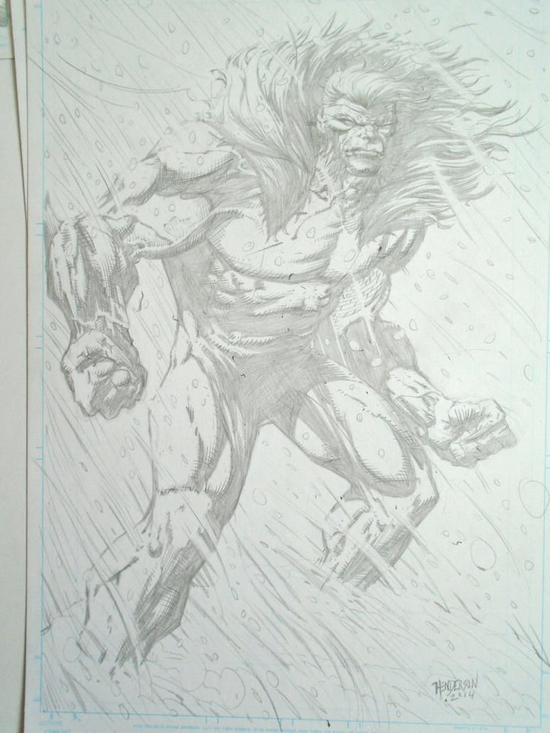 Sabretooth by dogsoldierr