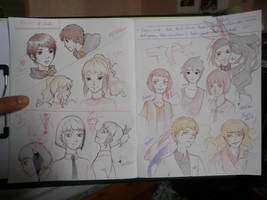 Tower of God manhwa characters by MuBiU