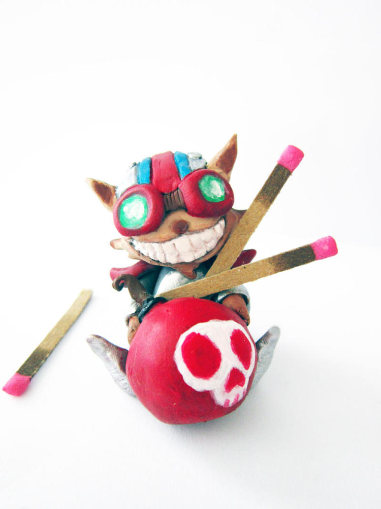 Ziggs Figure by Thekawaiiod