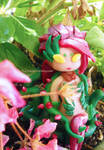 Zyra in the garden by Thekawaiiod