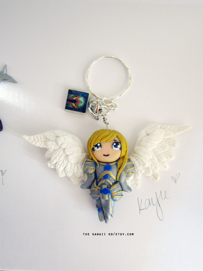 Kayle key chain by Thekawaiiod