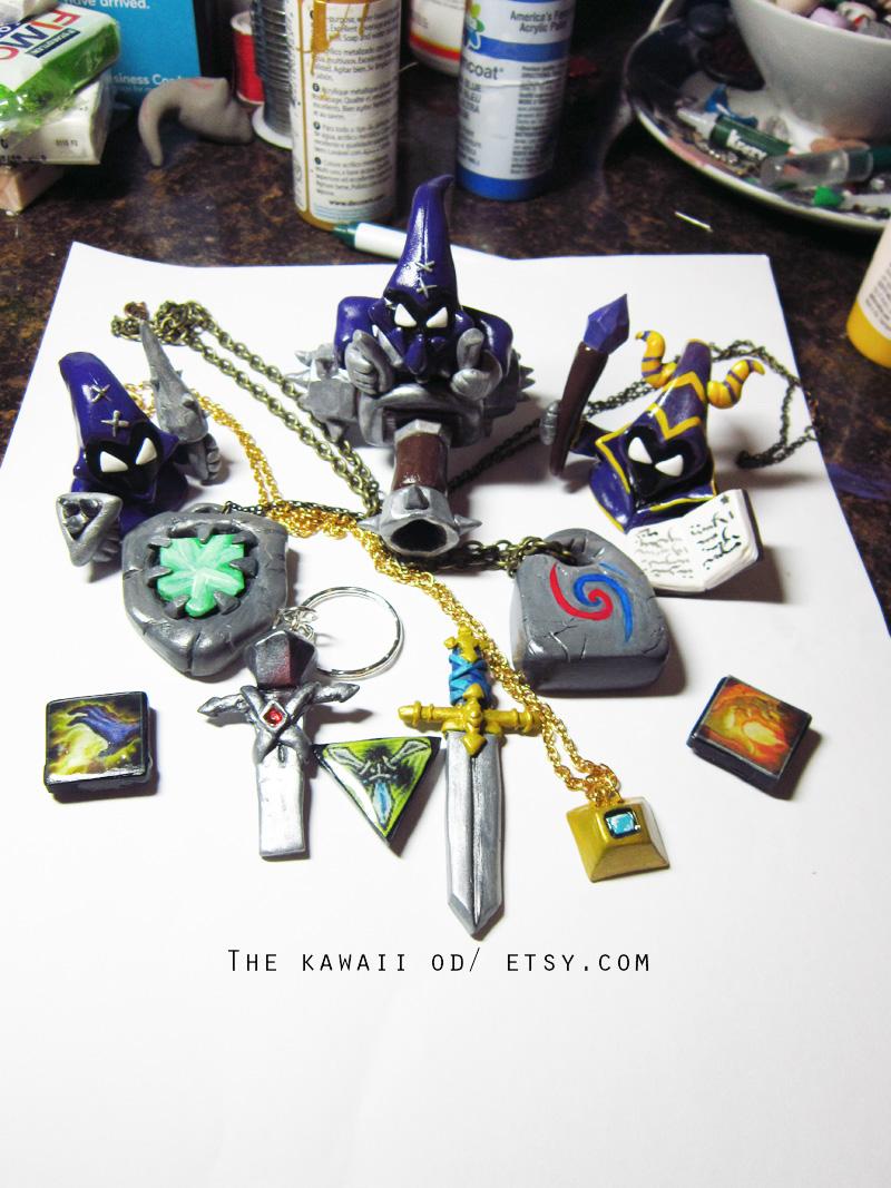 League of legends items by Thekawaiiod