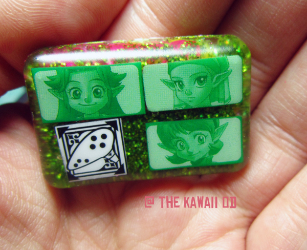 Links girls resin keychain by Thekawaiiod