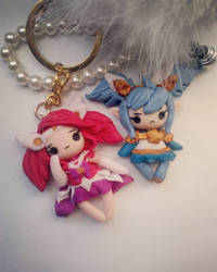 Lux and poppy star guardian chibis by Thekawaiiod