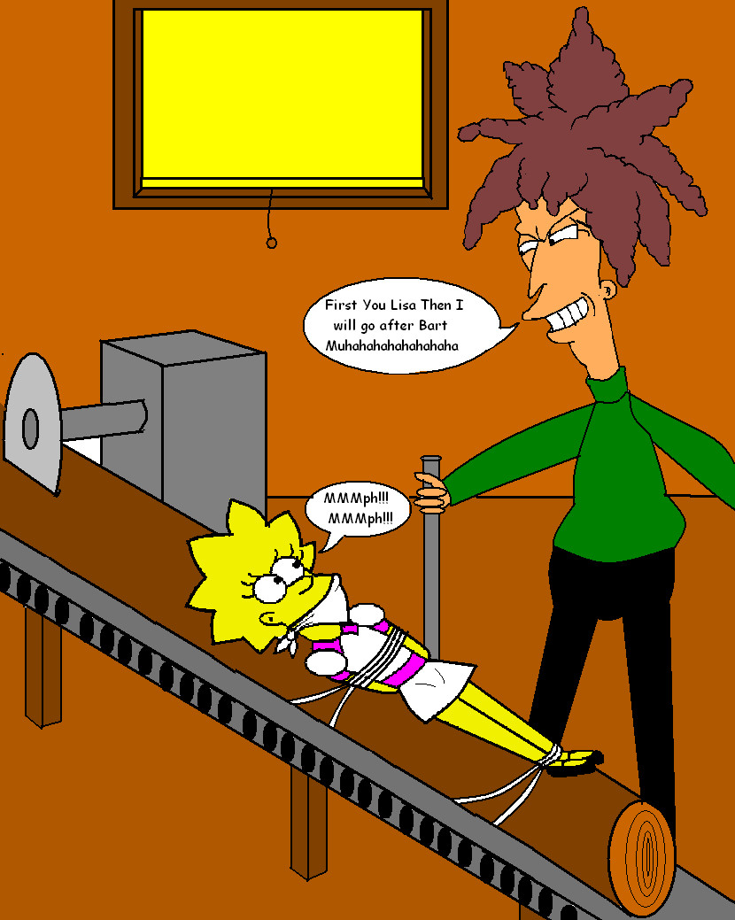 Lisa and Sideshow Bob II by Walnutwilly