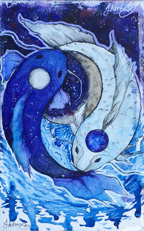 Yin yang fish by missjantastic on deviantart for Yin yang fish