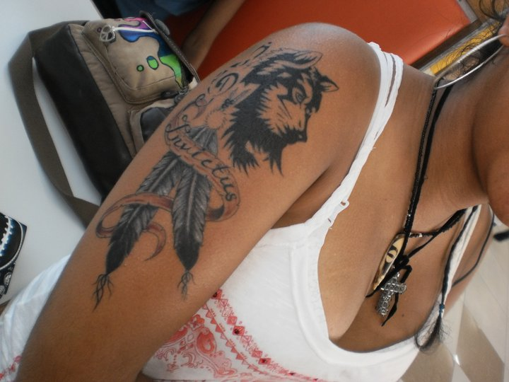 My tattoo.. Invictus. by TatianaHype on DeviantArt