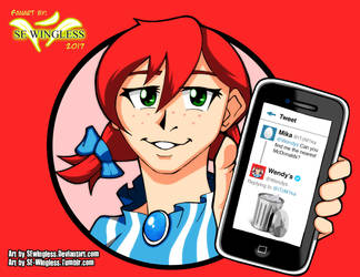 Wendy's girl by SEwingless