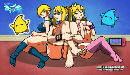 Nintendo Queens by SEwingless