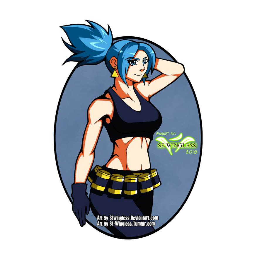Leona Heidern Fan Art by SEwingless