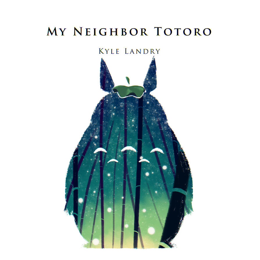 Kyle Landry My Neighbor Totoro by Shyua