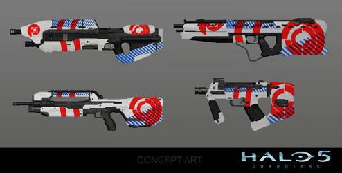 Spiral Weapon Skin Concept by arankin