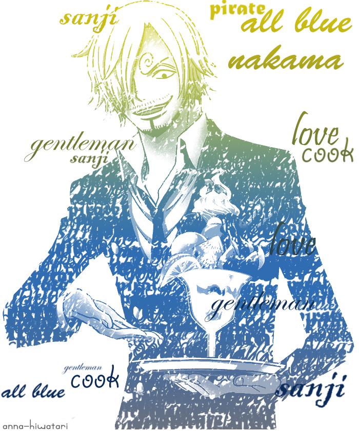 Chef Sanji by AnnaHiwatari