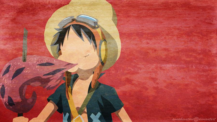 Luffy-SW minimalist wallpaper by AnnaHiwatari on DeviantArt