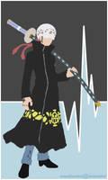 Trafalgar Law Minimalist Poster by AnnaHiwatari