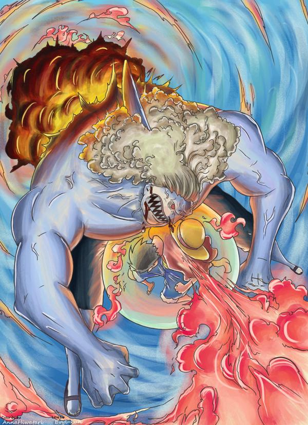 RED HAWK [Happy Birthday, Luffy!!] by AnnaHiwatari on ...