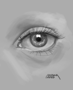 quick eye sketch by makseph