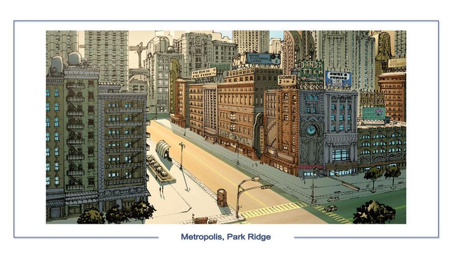 DC Online Metropolis Parkridge by olivernome