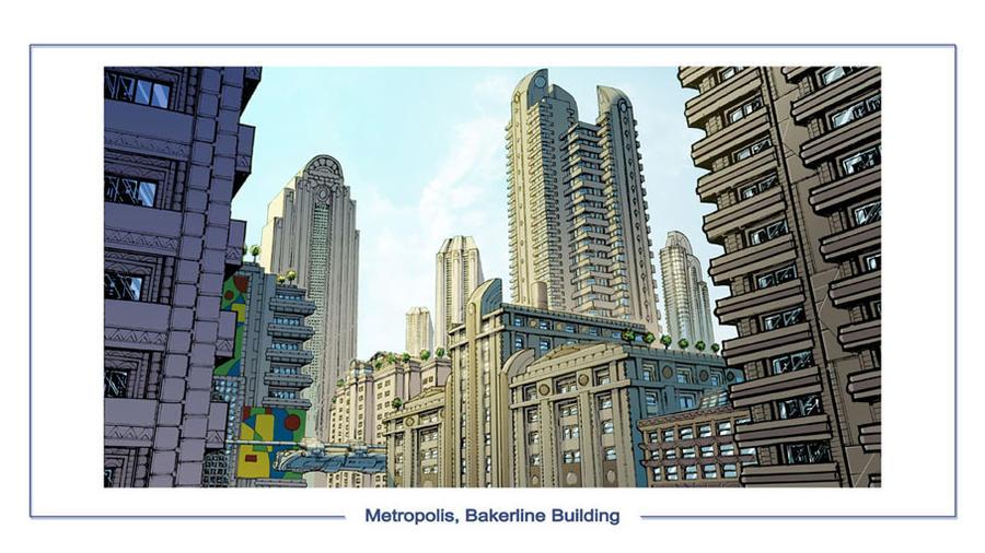 DC Online Metropolis by olivernome