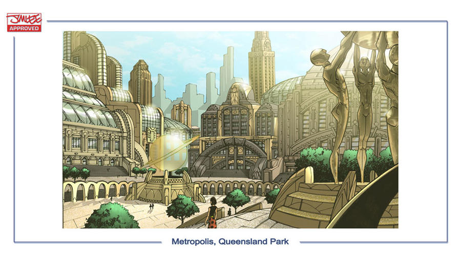DC Online Metropolis 2 by olivernome