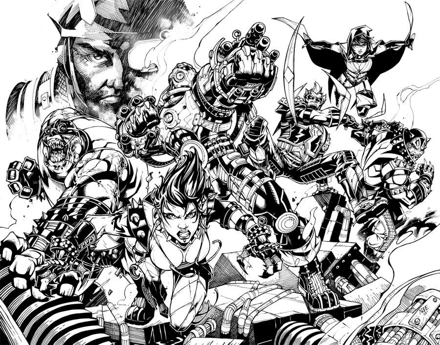 Suicide squad coloring book pictures to pin on pinterest for Suicide squad coloring pages