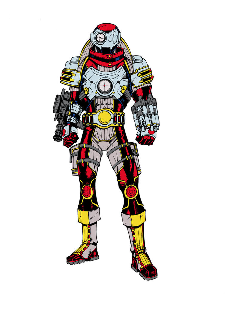 Deadshot Redesign Deadshot 2.0 colors by...